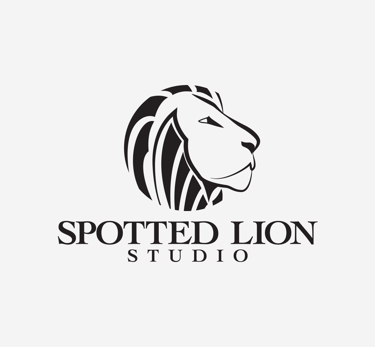 Spotted Lion Logo